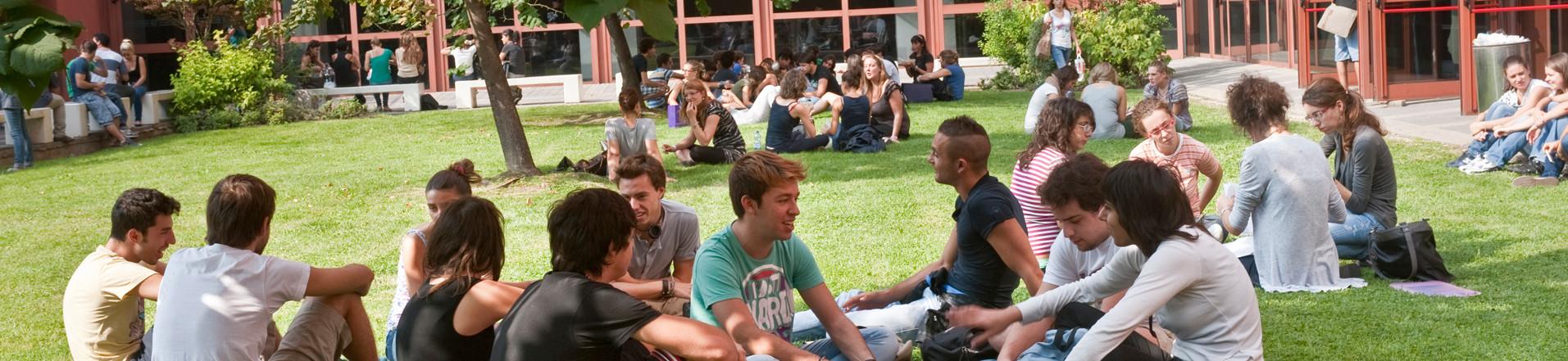 Studenti all'Università degli Studi di Milano - Bicocca