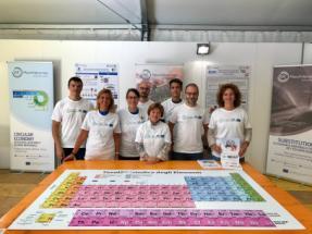 Foto di gruppo del gruppo di lavoro EIT Raw Materials
