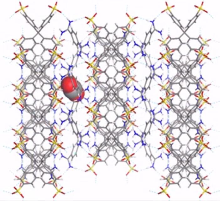 Schema di una nanospugna