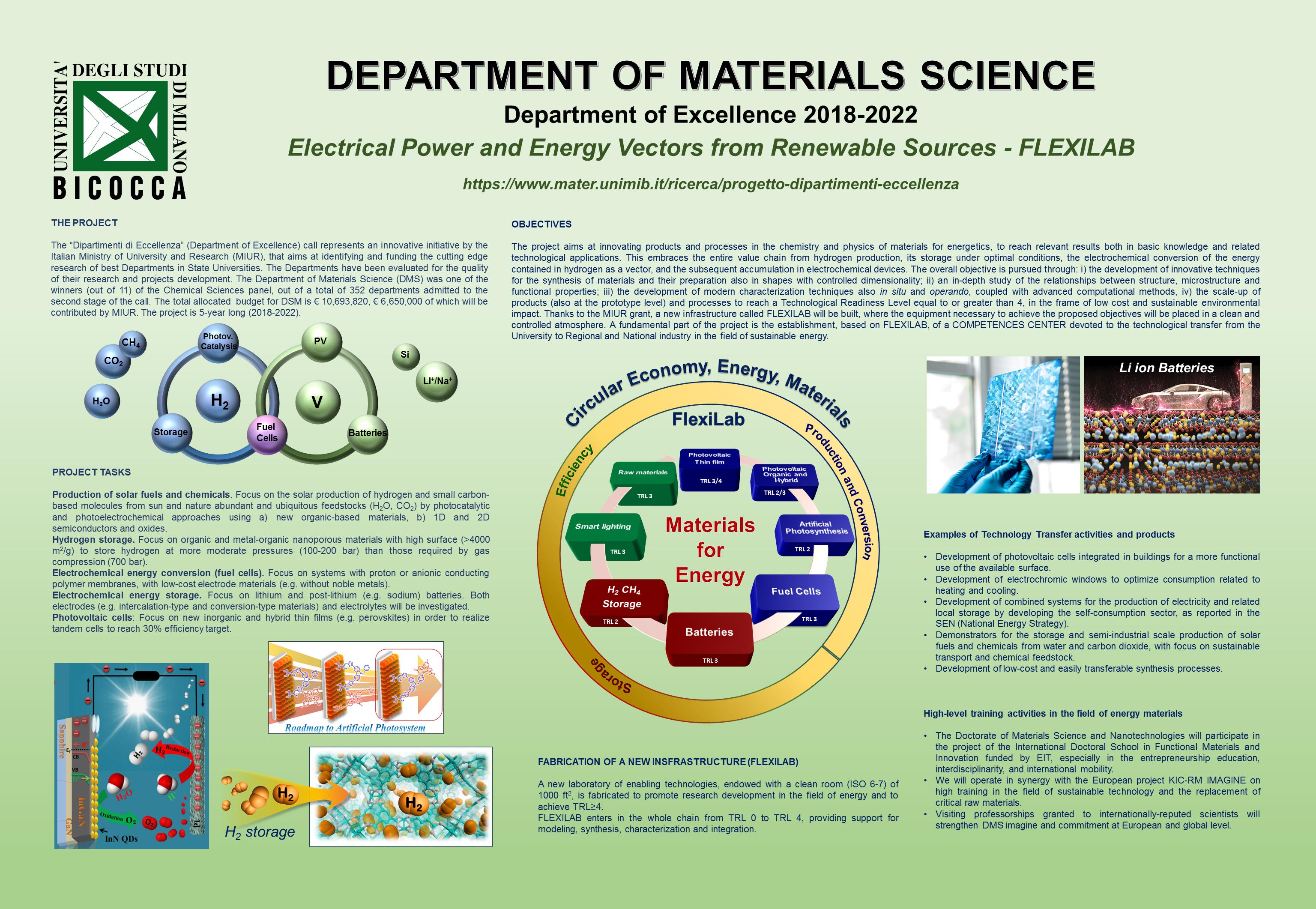 energia sostenibile, economia circolare, celle a combustibile