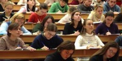 studenti a lezione